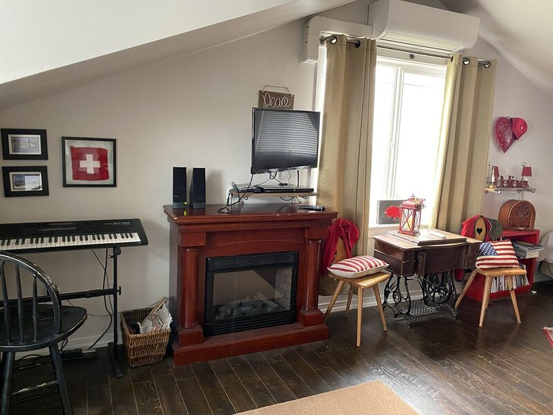 Swiss-Themed Apartment on Organic Farm, alquiler de vacaciones en Twin Falls