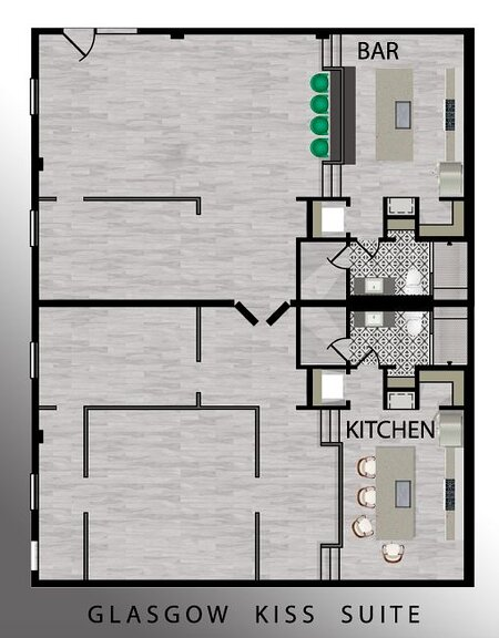 Floor Plan | For space reference - Does not show furniture