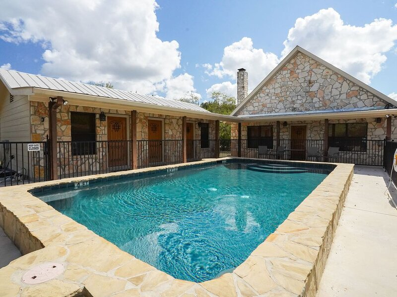 Frio River! - Cypress Bend Subdivision  -  ARROWHEAD  home with POOL !!!, vacation rental in Sabinal