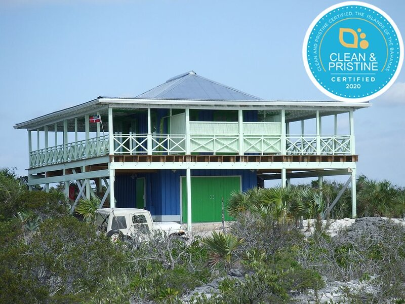 Private Beach House on 3.25 Acres with Spectacular Beach   #1 ����� reviews, holiday rental in Cat Island