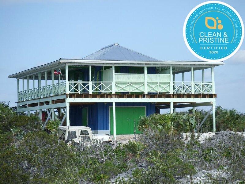Private Beach House on 3.25 Acres with Spectacular Beach   #1 ����� reviews, aluguéis de temporada em Cat Island