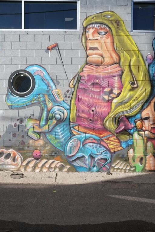 Mural by local artist