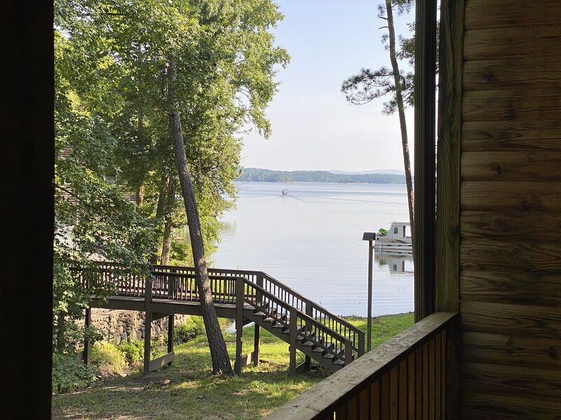 Waterfront, Lake-View Condominium on Ouachita at Mountain Harbor, holiday rental in Pencil Bluff