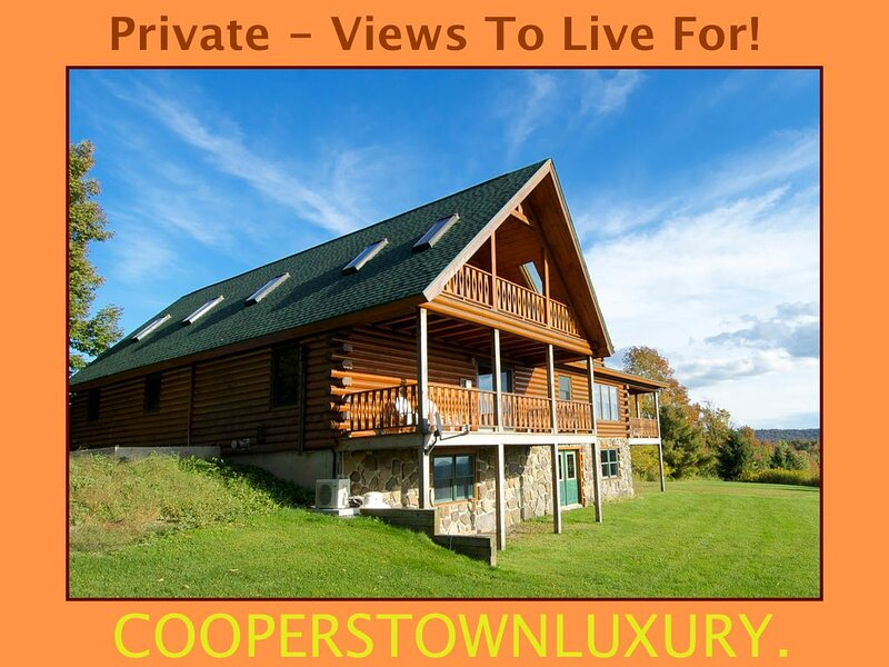 Country living just 6 miles to town.. Cathedral ceilings, beams,  views, ponds.