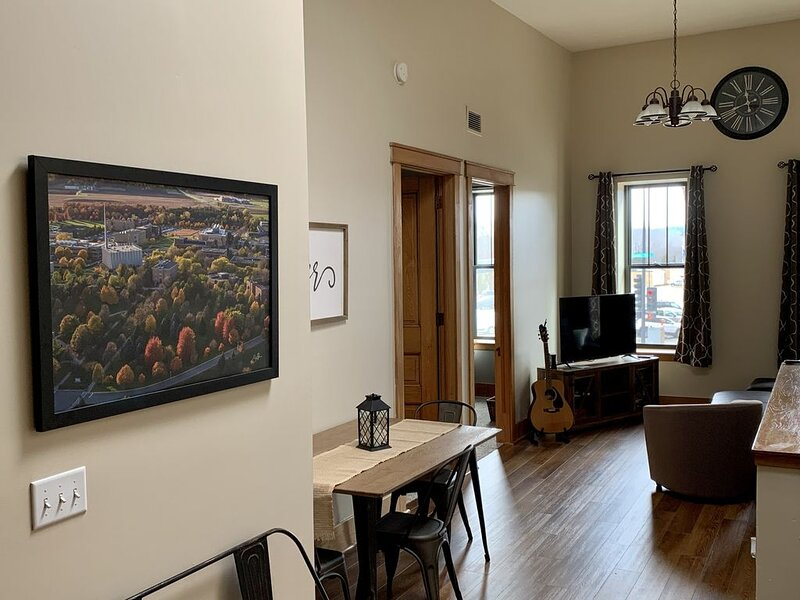 3 BR Loft Apartment; Sleeps 6, holiday rental in Mankato