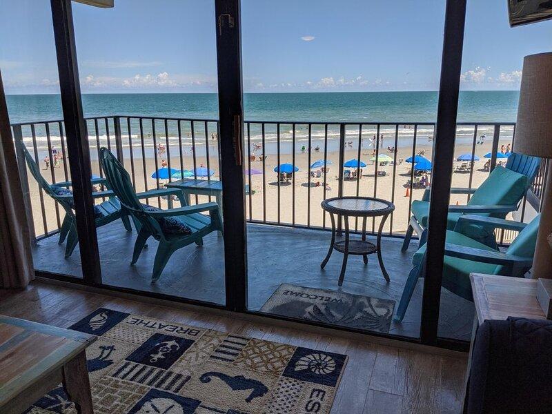 Beautiful Second Floor, Oceanfront Condo., location de vacances à Murrells Inlet