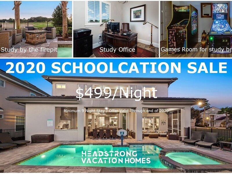 $499 - 2020 SCHOOLCATION SALE ���� 8 BDRM ���� LUXURY VILLA, holiday rental in Reunion