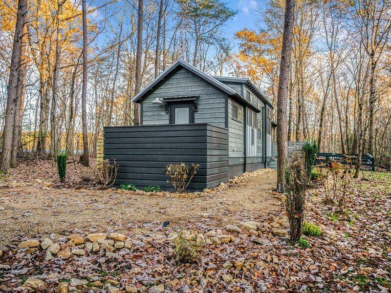 agoodhearted{tiny}home at The Retreat at Deer Lick Falls, location de vacances à Altamont