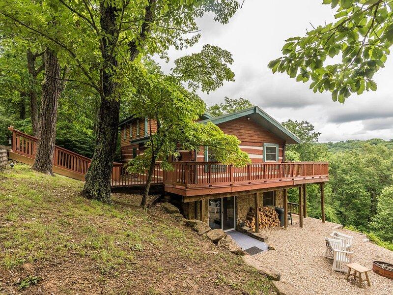 Heartstone Log Cabin, alquiler de vacaciones en Nashville