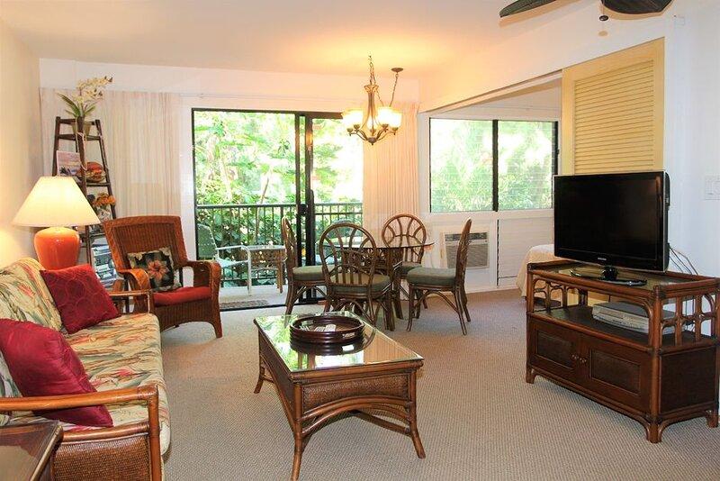 HK-B16 - Maui Gardenview Condo in Secluded Beachfront Resort on Ma'alaea Bay, aluguéis de temporada em Kahului