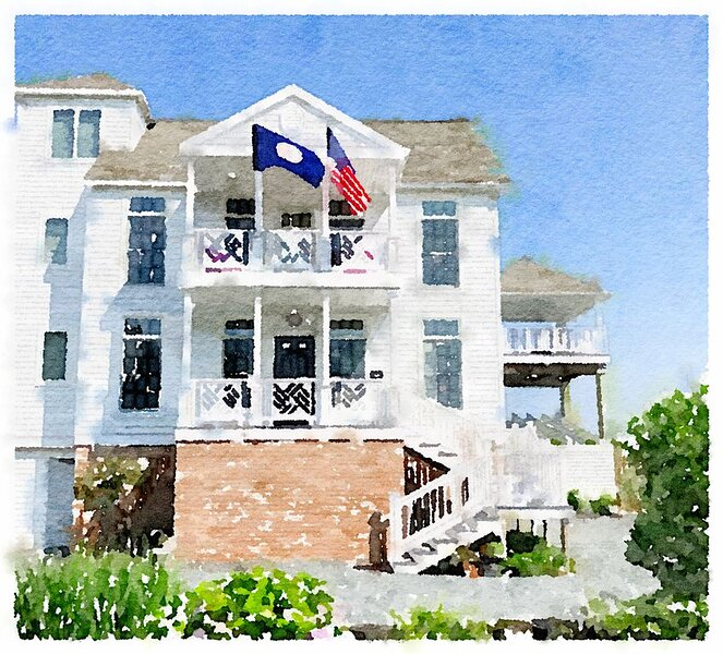 Elegant Waterfront Residence, Magnificant Sunst, Close to Town Ctr, Elevator, vacation rental in Chincoteague Island