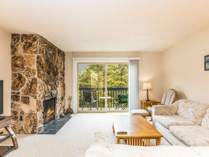 New listing! Dog-friendly condo w/ amazing mountain views - walk to ski resort!, casa vacanza a Whittier