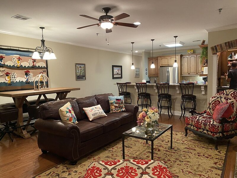 Luxury condo on beautiful Front Street in downtown historic district, location de vacances à Natchitoches