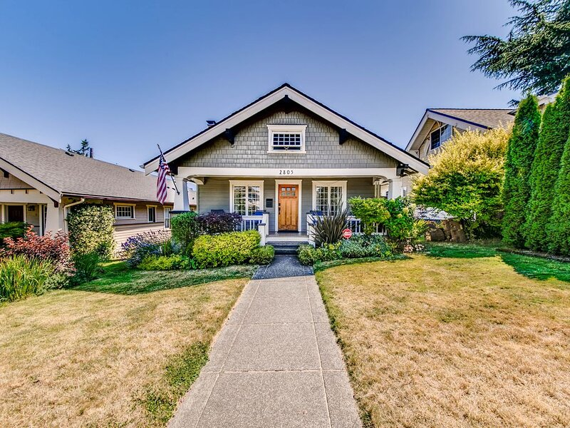 North End Craftsman-near Proctor, Old Town, Ruston, casa vacanza a Tacoma