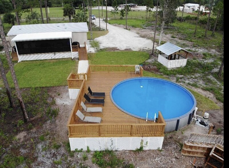 Vacation Home,Clewiston, ft. Myers 3/2 Pool & Wifi, holiday rental in Moore Haven