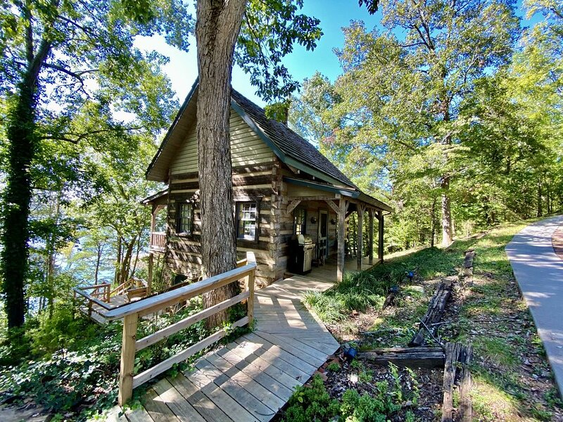 Luxury Log Cabin and 40 acres on Douglas Lake, holiday rental in Dandridge