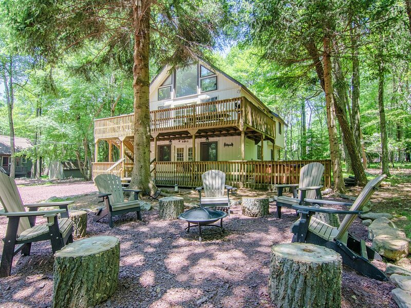 Lantern Lake House in Lake Harmony, holiday rental in Lake Harmony