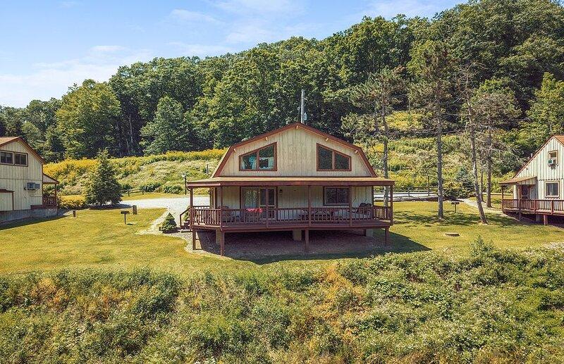 Rough Cut Lodge - Hickory Cabin, location de vacances à Wellsboro