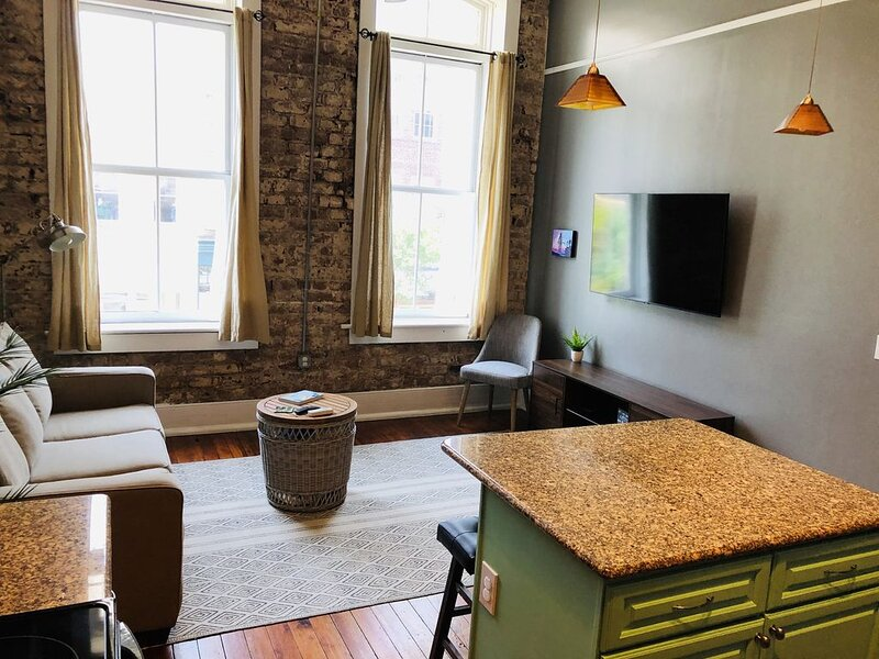Historic Loft in Shopping Heart of Downtown Savannah, holiday rental in Rincon