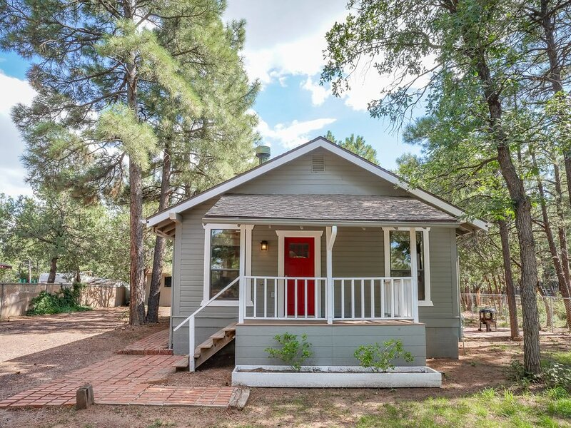 COZY COTTAGE BY RAINBOW LAKE COMPLETELY FENCED FOR YOUR PUPS!!, location de vacances à Pinetop-Lakeside