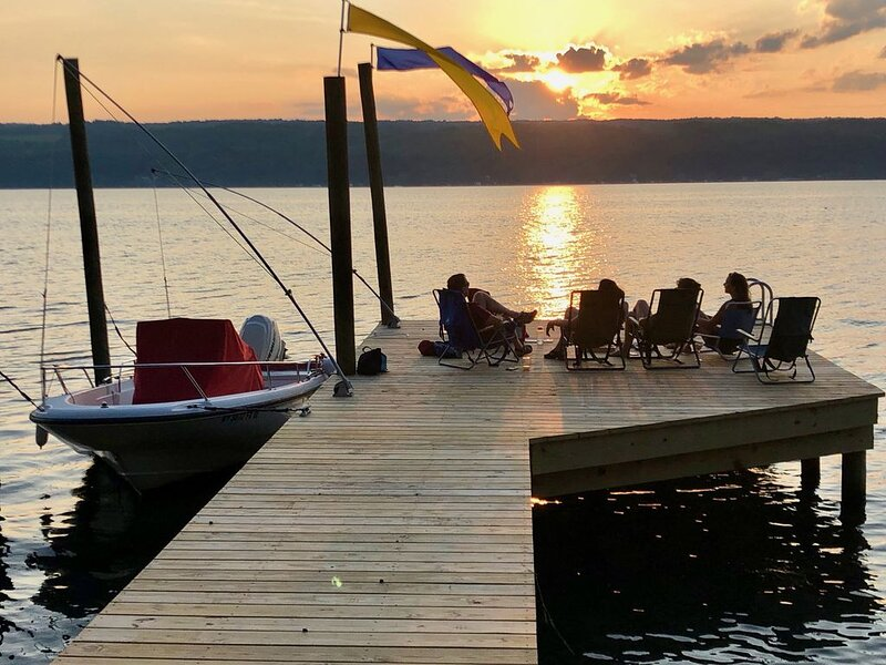 Spectacular Sunsets, Private Setting:, vacation rental in Burdett
