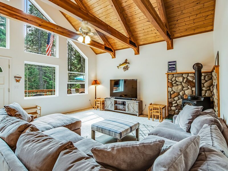 Dog-friendly cabin next to nature, near town!, vacation rental in Ronald
