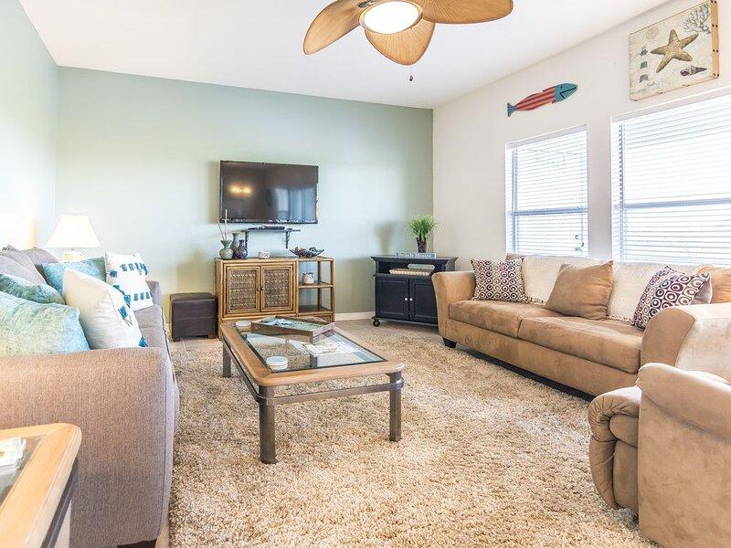 Living Room 2-Romar Lakes 302B-Orange Beach, AL