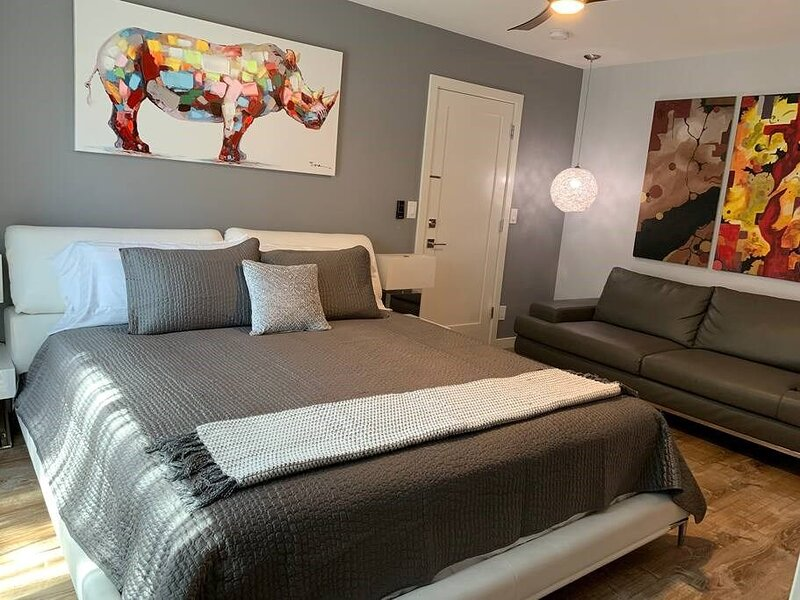 Contemporary Studio 200 yards to the sand & waves, vacation rental in Carpinteria
