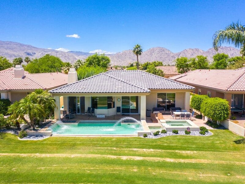 57780 Black Diamond · PGA West, nearly 3000 square feet, pool, spa, lux+, casa vacanza a Mecca