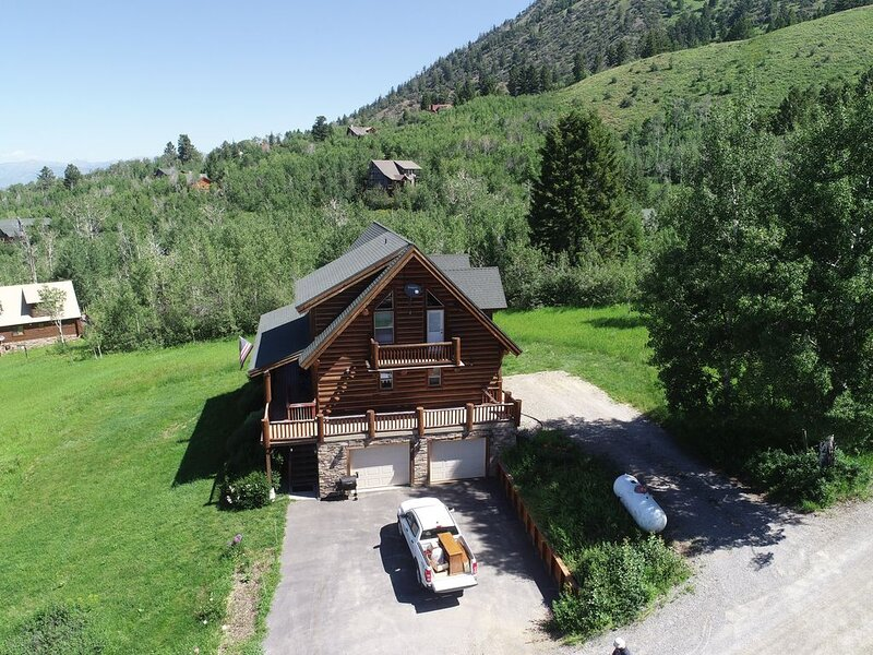 Log home in the Mountains, casa vacanza a Afton