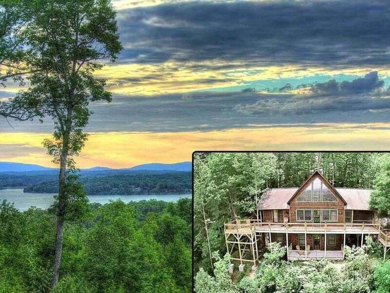 Breath Taking - Long Range Mountain Views & Lake Blue Ridge at Your Finger Tips!, holiday rental in Morganton