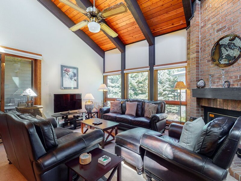 Large, top-floor condo w/ a shared pool, hot tubs, & easy access to outdoor fun, holiday rental in Steamboat Springs