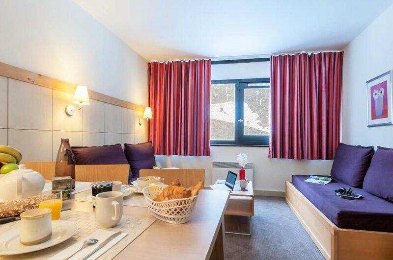 Résidence Pierre & Vacances La Forêt*** - 3 pièces 6/7 personnes Standard - Expo, vacation rental in Flaine