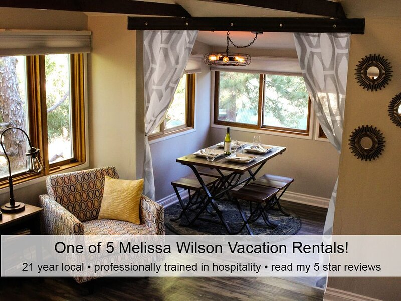 Hip•comfy•loved•pro cleaned•pets ok•luxury linens•artist designed•stocked, alquiler de vacaciones en Idyllwild