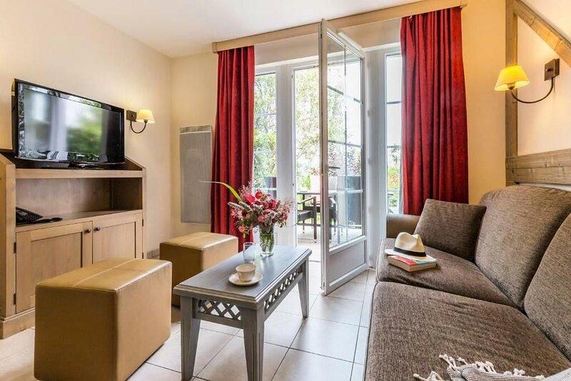 Résidence Pierre & Vacances Premium Résidence & Spa**** - Maison 3 Pièces 6 Pers, location de vacances à Dozulé