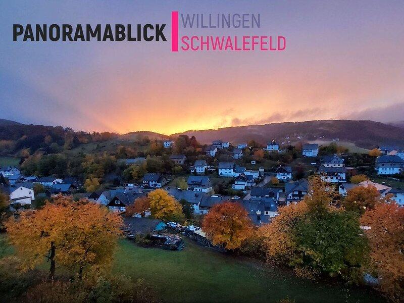 Panoramablick Willingen Schwalefeld, location de vacances à Schwalefeld