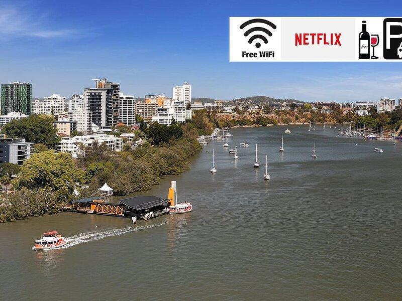Enjoy the views of the Brisbane River