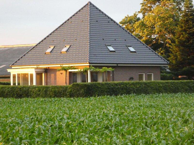 Tranquil Holiday Home in Balkbrug with Garden, alquiler vacacional en Dedemsvaart