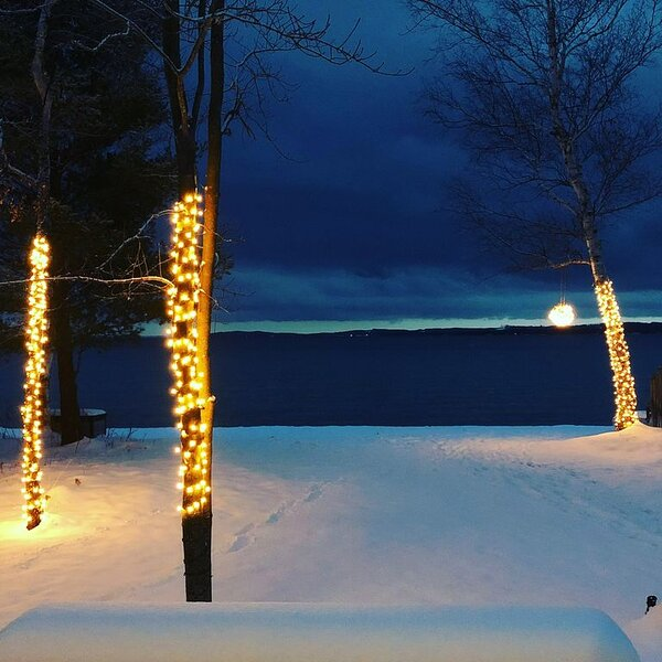 Leelanau/Northport Beach House,130 ft of prime sugar sand beach just steps away, holiday rental in Northport