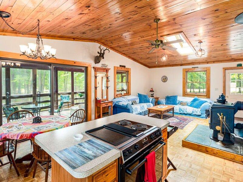 Cabin w Hot Tub, River/Kayak, WiFi, & Fire Pit!, casa vacanza a Springfield