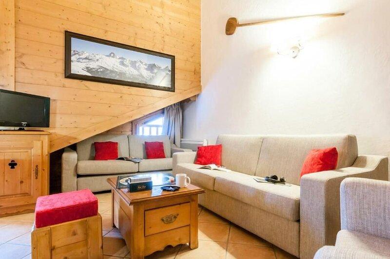 Résidence Pierre & Vacances Premium Les Fermes du Soleil**** - 3 Pièces Cabine 6, holiday rental in Magland