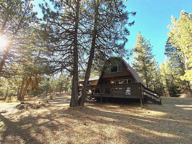 The Ponderosa - Peaceful, Private, Picturesque cabin nestled in the pines, holiday rental in Cascade
