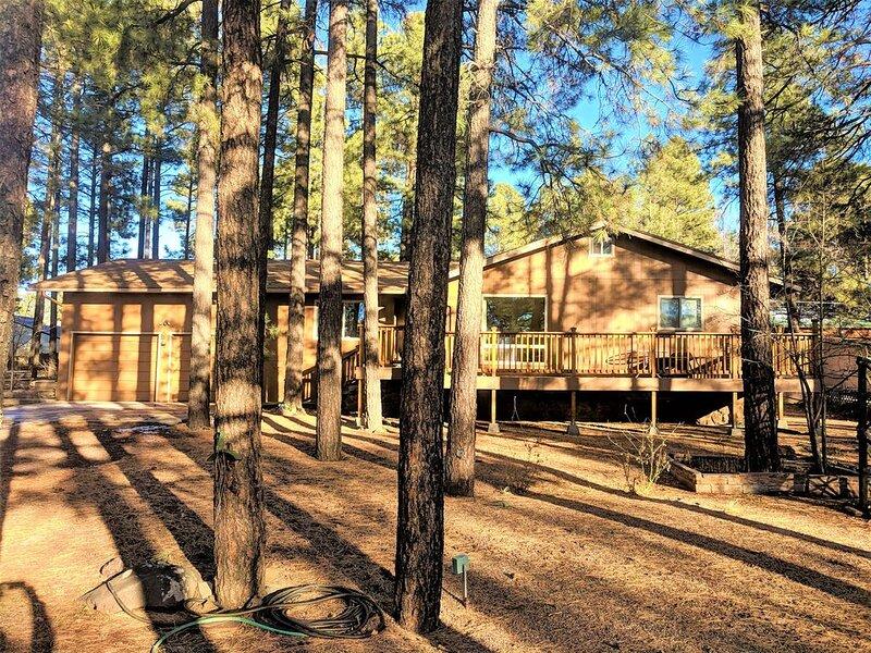 Pinetop Cabin 4bed/2bath, alquiler vacacional en Pinetop-Lakeside