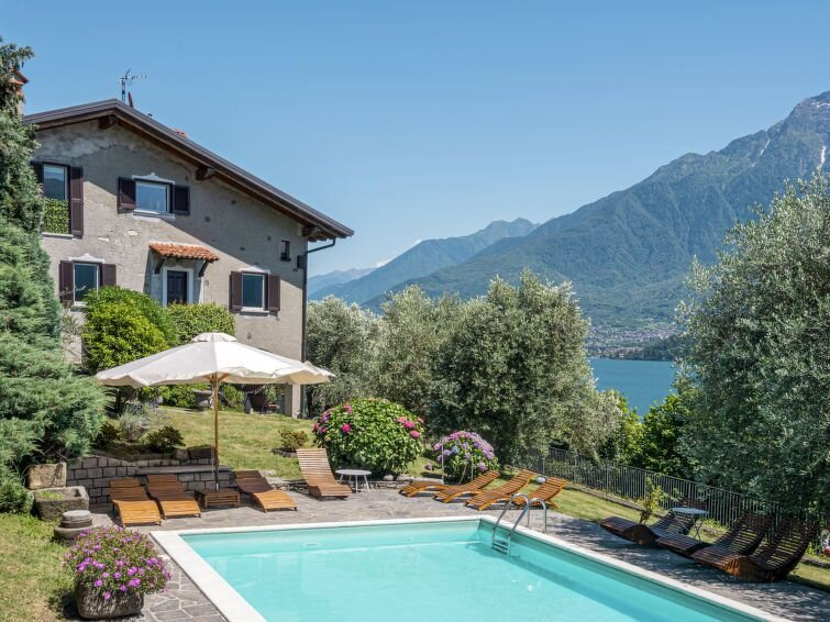 Apartment Casa Bianca  in Domaso (CO), Lake Como - 3 persons, 1 bedroom, holiday rental in Domaso