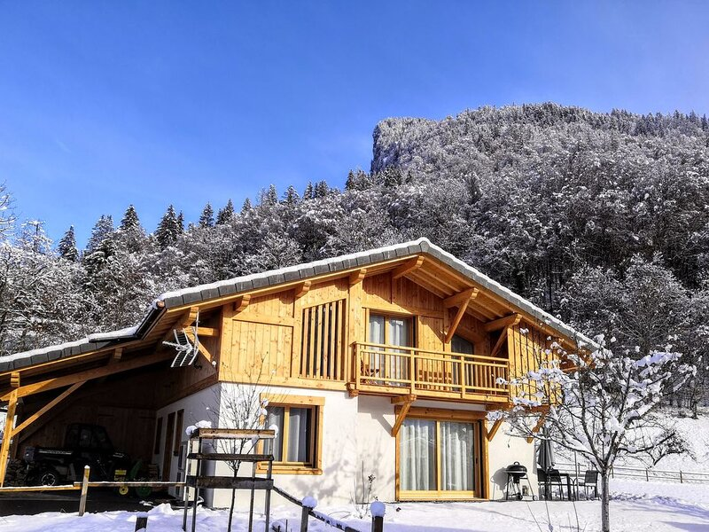 Chalet Josaly 4*  Spa 8 pers à Samoëns, holiday rental in Samoens