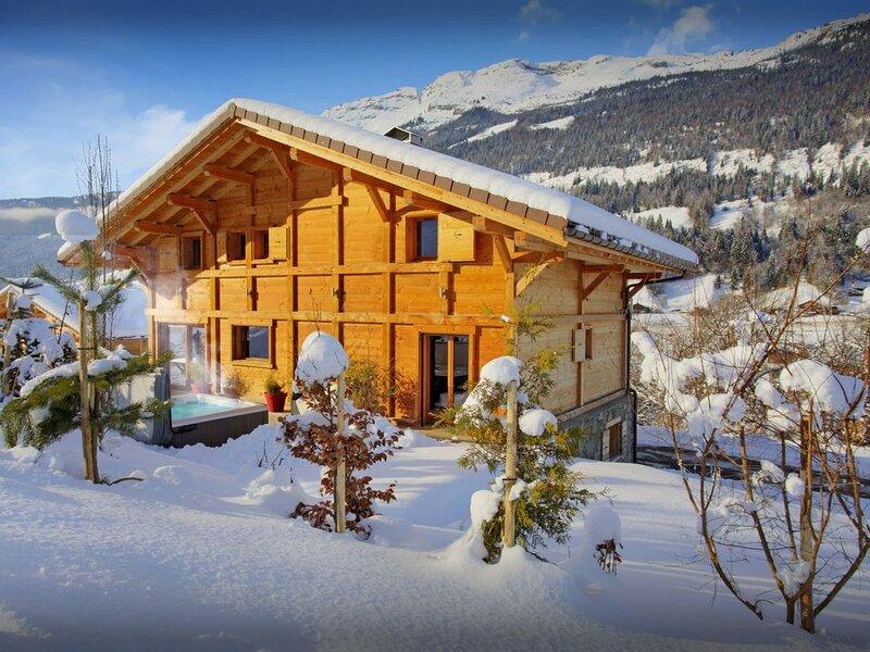 Beau chalet 5 étoiles au calme, jacuzzi, vue splendide, wifi - OVO Network, vacation rental in Les Villards-sur-Thones