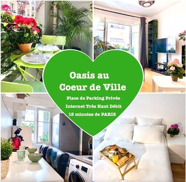 Oasis au Cœur de Ville, vacation rental in Palaiseau
