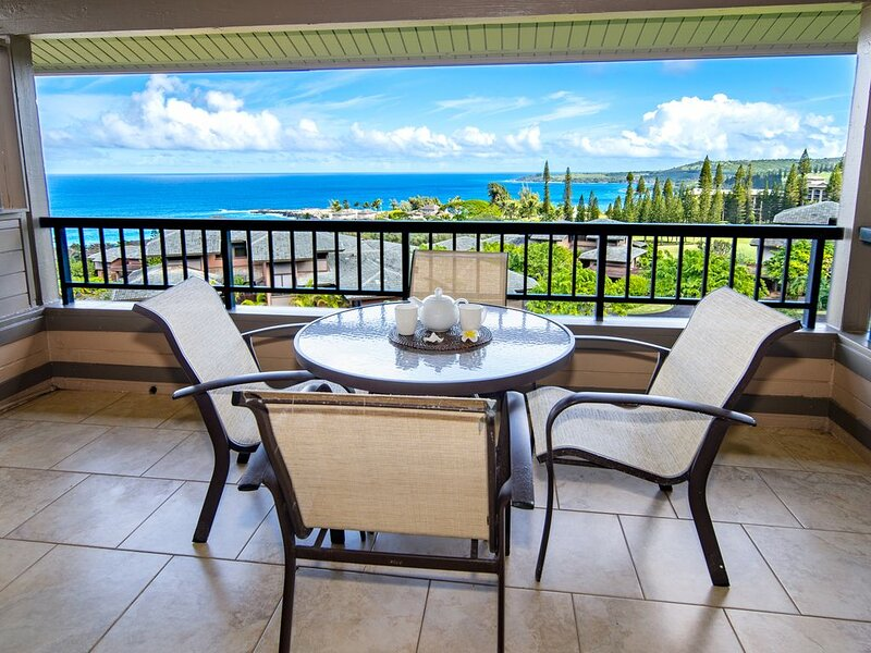 Kapalua Ridge Villa Gold!  Endless Ocean Views!, alquiler de vacaciones en Kapalua