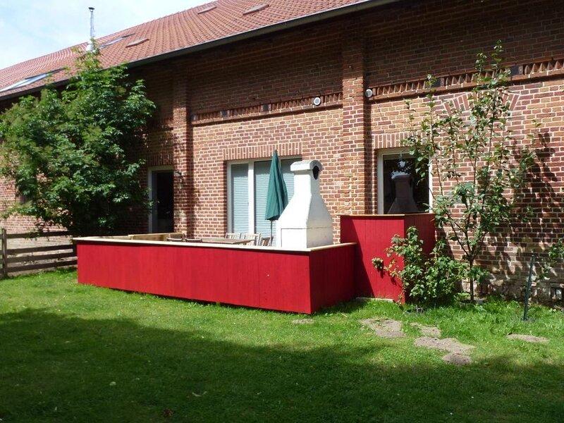Ferienwohnung Hoppenrade für 1 - 6 Personen mit 2 Schlafzimmern - Ferienwohnung, location de vacances à Muhl Rosin