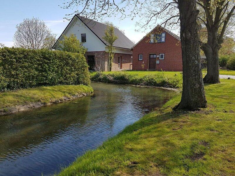 Ferienhaus Dollart für 1 - 5 Personen mit 3 Schlafzimmern - Ferienhaus, casa vacanza a Finsterwolde